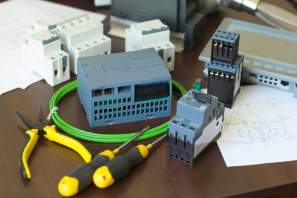 Electrical construction work