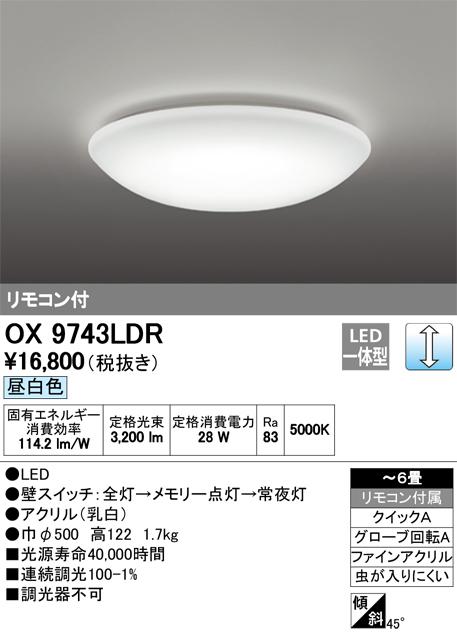 OX9743LDR