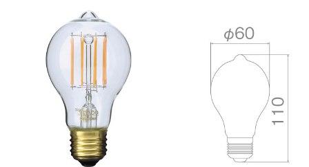 サイフォン フィラメントLED電球